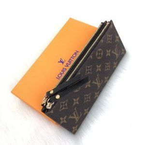 Louis Vuitton Adele original leather wallet 22x10